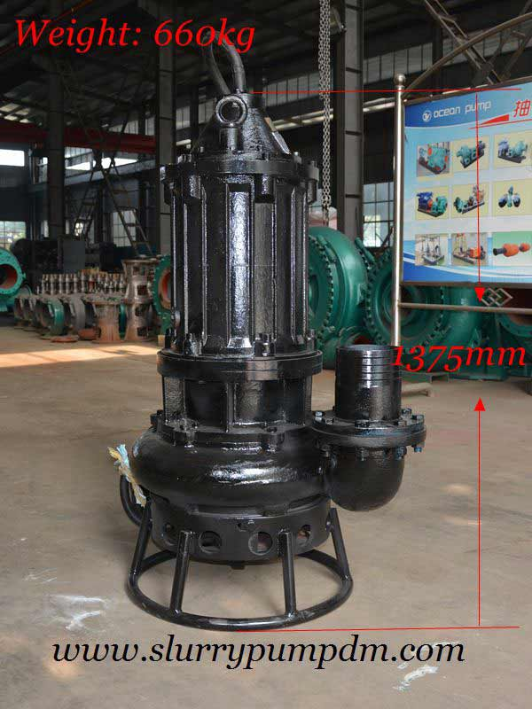 Submersible Agitator Sand Pump - Slurry Pump, Submersible